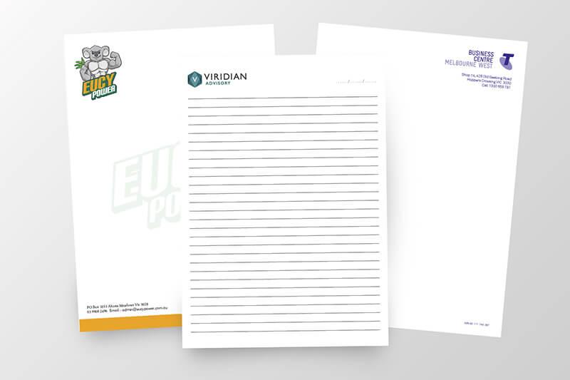 Letterhead Custom Printing - Same Day Printing Services
