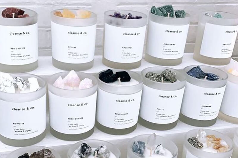 Cleanse and co Candle Labels 2