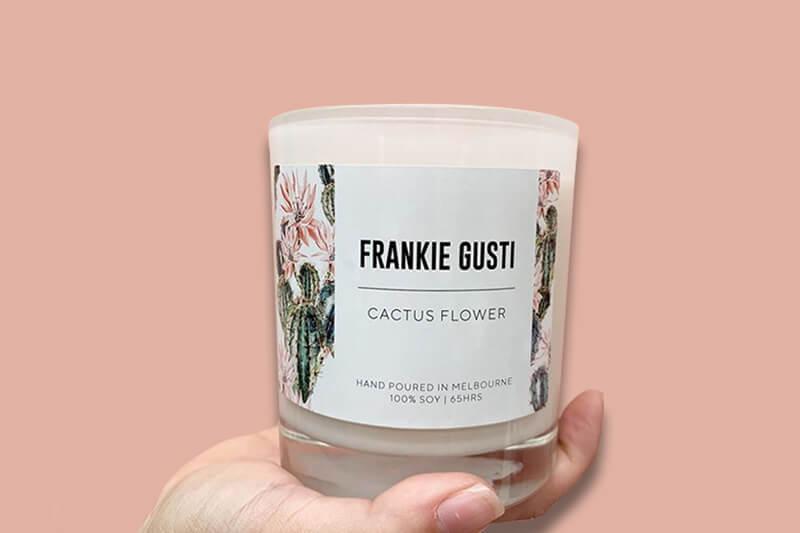 Frankie Gusti - Candle Labels Printing