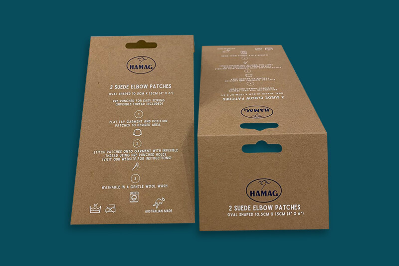 Kraft Bag Toppers Printing with white ink - Same Day v2