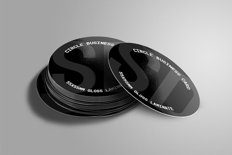 circle-business-cards-55x55mm samedayprinting