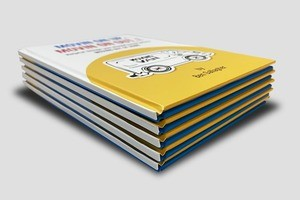 Hard Cover Perfect Bound Books - Same Day Printing v1