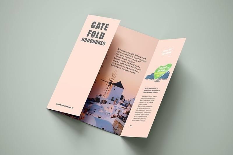 Gate Fold Brochure Printing - SDP