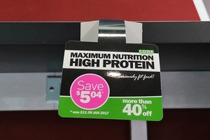 Max Nutrition Shelf Wobbler Printing - SDP 1