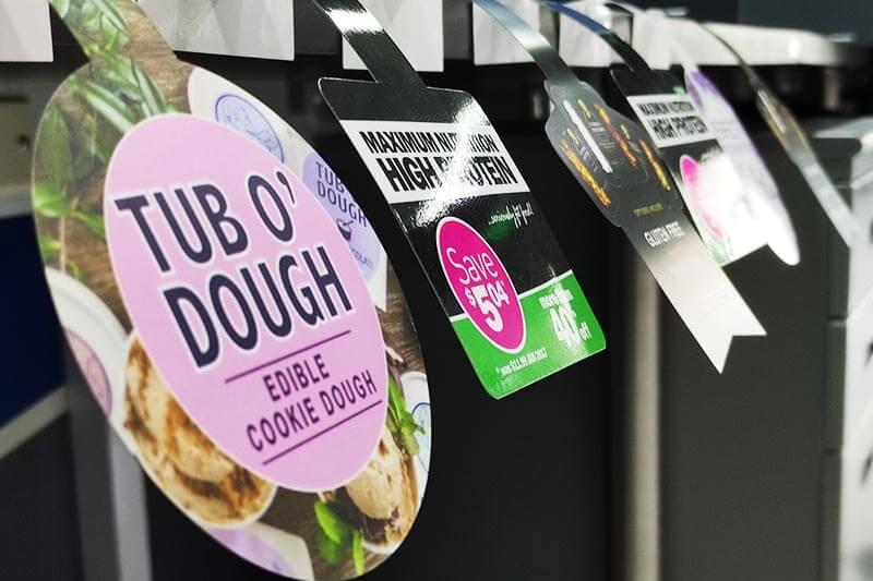 Tub o Dough Shelf Wobbler Printing - SDP