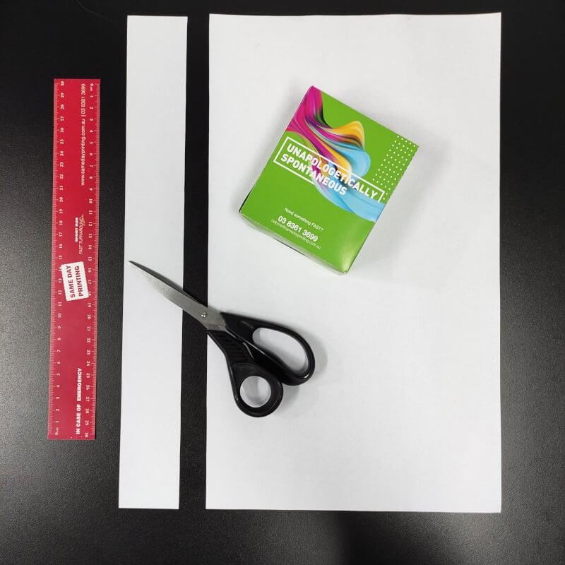 Packaging Sleeves - Measure step 2