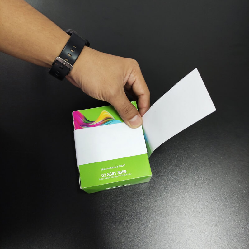 Packaging Sleeves - Measure step 5