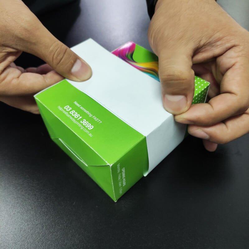 Packaging Sleeves - Measure step 6