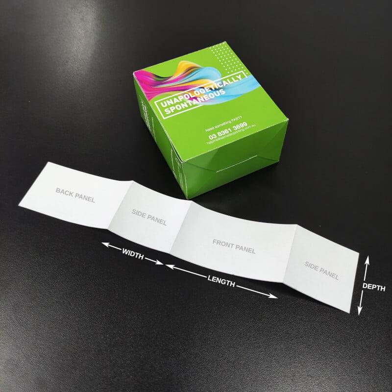 Packaging Sleeves - Measure step 8